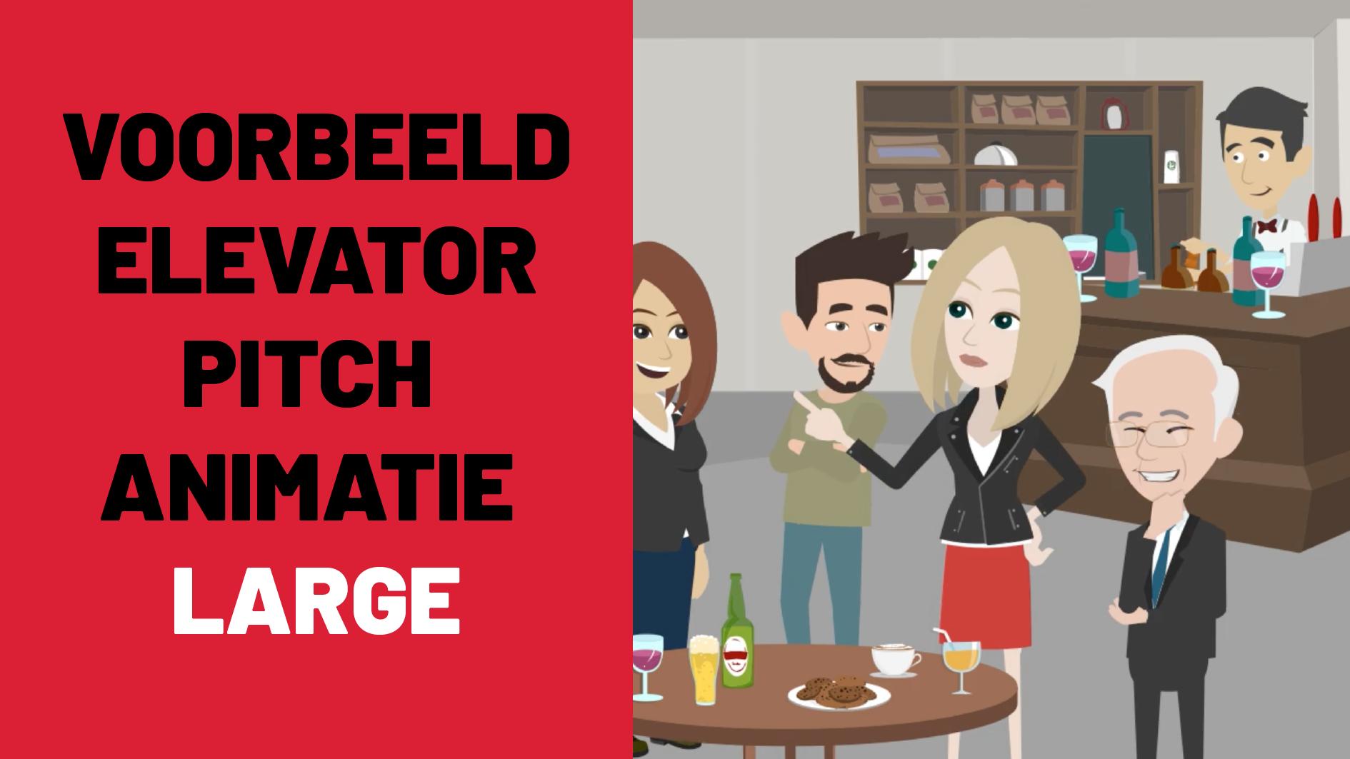Voorbeeld elevator pitch animatie large