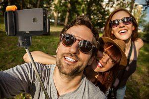 Verkopen is ook bewust poseren voor een selfie